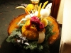A Christmas Fruit Carving Display
